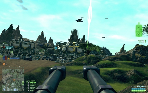 Screenshot von Planetside 2