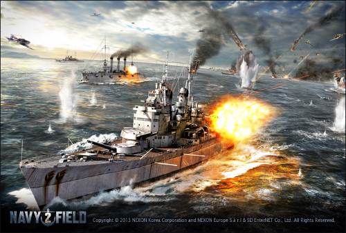 Screenshot aus Navy Field 2