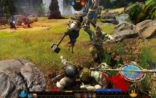 Screenshot von Panzar