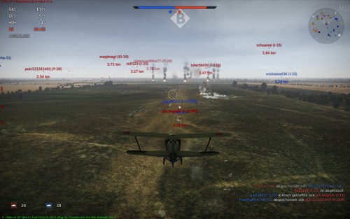 Screenshot aus War Thunder