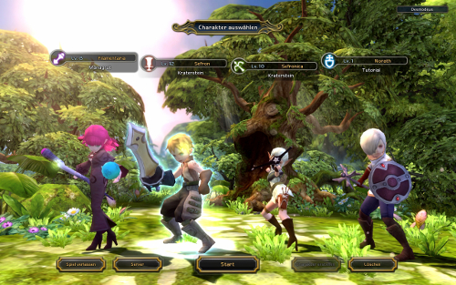 Screenshot aus Dragon Nest