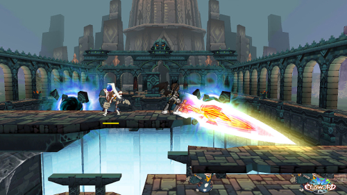 Feld-Update-Screenshot aus Elsword (Presse-Screenshot)