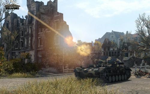Screenshot vom World of Tanks Update 8.6 #1