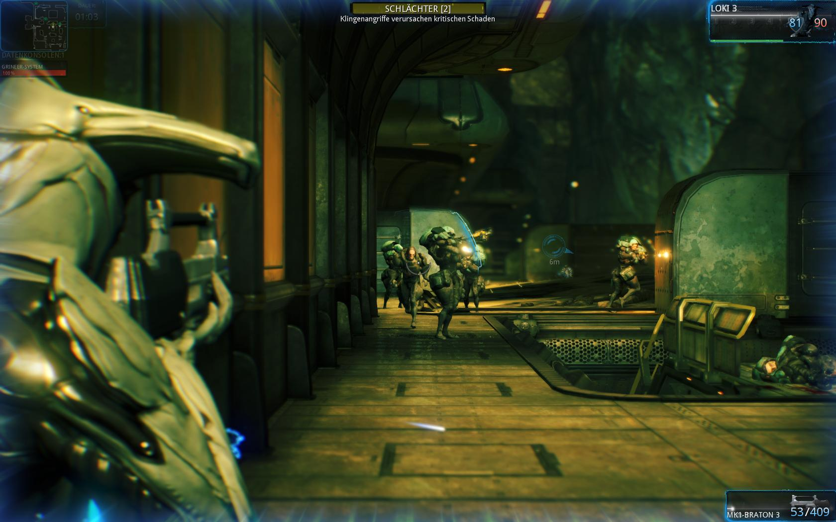 Gameplay Screenshot von Warframe