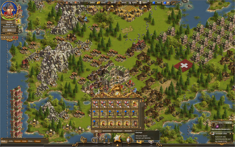 Aufbau Online Spiele