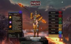 Panzar Screenshot / Charaktererstellung - Schwester des Feuers