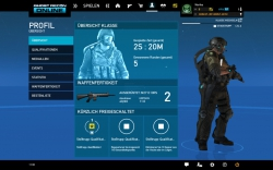 Ghost Recon Online Screenshot - Profil / Übersicht