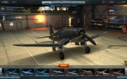 World of Warplanes Gameplay Screenshot #1 - Flugzeughangar