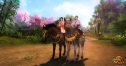 Age of Wulin Screenshot: Reittiere(Mounts)